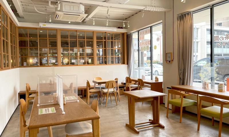 茶の間喫茶の店内