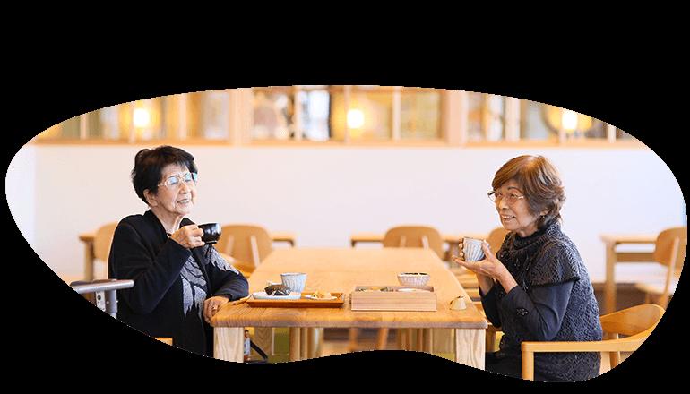 食事だけじゃない、食事&家族&対話&相談、のようにくつげる、みんなの家のような場所、地域に寄り添ったコミュニティカフェの概要の画像
