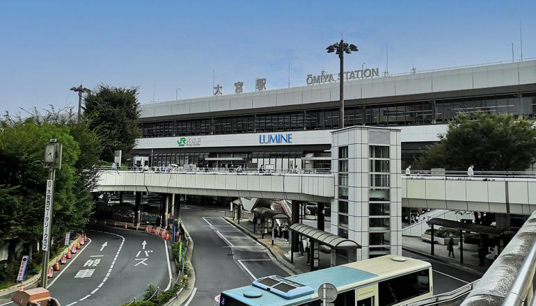 JR大宮駅の風景